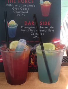 ~Best drink I ever had - The Dark Side!!! @ Star Wars Weekends @ Hollywood Studios
