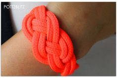 POTTZBLITZ: Fesch Shoelace Bracelet, Bracelets, Paracord, Diy, Jewelry, Style, Creative Things, Big Project, Fashion