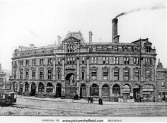 Moorhead Brewery and Grapes Hotel, Thomas Berry and Co. Ltd., South Street, Moor and Moorhead