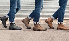 c9296f4be36 Groupon Goods Global GmbH  Boots en cuir fourrées Redfoot pour Homme