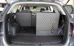 AA Custom Special Car Trunk Mats For KIA Sorento 7seats Durable Waterproof Luggage Mats For Sorento 7 Seats