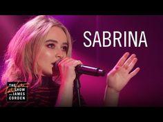 Sabrina Carpenter: Thumbs The Late Late Show, Sabrina Carpenter, Pretty, Hair, Beauty, Beauty Illustration, Strengthen Hair