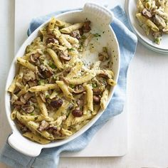 Put all that leftover turkey to good use! Combine it with other staple ingredients like pasta, frozen peas, and chicken broth to create a family-friendly dinner dish that everyone will love. Recipe: Turkey Pasta Bake   - Delish.com