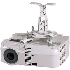 Peerless-av Pro Series Projector Flush Mount. Holds up to 50lbs Tilts -5deg -30deg  rolls +/-20deg & swivels +/-20deg  Accommodates most multimedia projectors Includes universal Spider(R) adapter plate for mounting most projector models UL listed