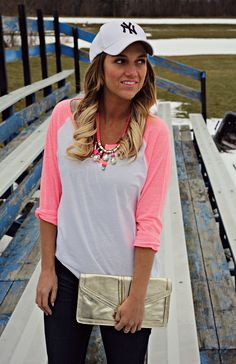 Baseball Tees: Casual and Glam