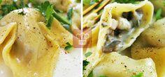 Равиоли с начинкой из грибов и сыра | Кулинарный журнал  Stay Delicious