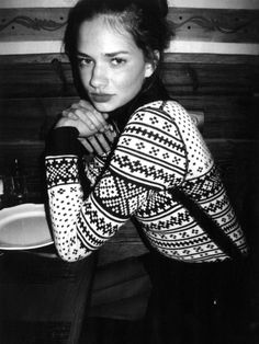 one day I shall learn to knit #fairisle // <3