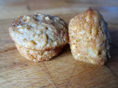 Oatmeal apple butter muffins - Bake mini-muffins for 10-12 minutes if using diced apples. Check after 8 minutes if using only applesauce or apple butter.
