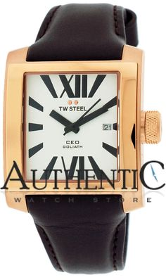 TW Steel CE3007 Watch CEO Goliath Mens - White Dial