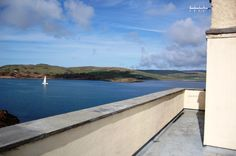 The view from the terrace of The Lookout on Davaar Island...the perfect getaway?