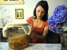 Brewing Kombucha at home. Video 1: Starting out.