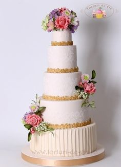 Wedding cake Elegance and Style - Cake by Viorica Dinu