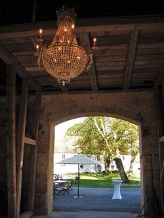 Die märchenhafte Atmosphäre des Wasserschlosses konnten die Besucher verschiedener Events bereits in der Sommer-Café-Lounge erleben.