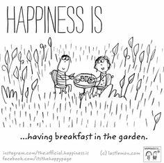 food & drinks (breakfast) / home