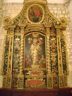 Imagen de una de las Capillas, Catedral Primada de América, Santo Domingo, República Dominicana.