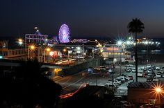 Los Angeles City Lights | Santa Monica Pier | Made-N-California
