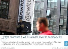 #Twitter #technology #socialmedia Twitter trying to improve diversity of workforce