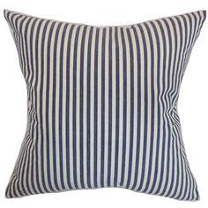 The Pillow Collection Neptune Cotton Throw Pillow
