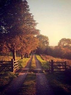"oldfarmhouse: "" Old Mason Road http://pin.it/Vzwvud FarmHouse """