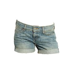 Jeans Hotpants in Hellblau ($60) ❤ liked on Polyvore featuring shorts, bottoms, pants, short, jeans, denim hot pants, hot denim shorts, hot pants, mini shorts and hot shorts