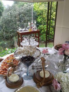 Desayuno casa cris bautizo de Belen