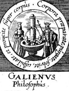 ALQUIMIA VERDADERA: Emblema 32. Galieno, filósofoPrepara, limpia, disuelve y coagula los cuerpos y proyéctalos sobre el cuerpo.
