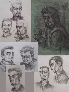 Shame — A bunch of Tony sketches