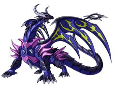 dharak 2 by on DeviantArt Dark Creatures, Fantasy Creatures, Fantasy Dragon, Dragon Art, Fairy Tail Dragon Slayer, Bakugan Battle Brawlers, Pokemon Oc, Fantasy Beasts, Enter The Dragon