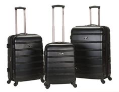 Rockland Luggage Melbourne Three-Piece Set