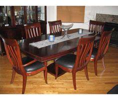 "bernhardt ""paris"" collection – dining room set for sale! is a, Esstisch ideennn"