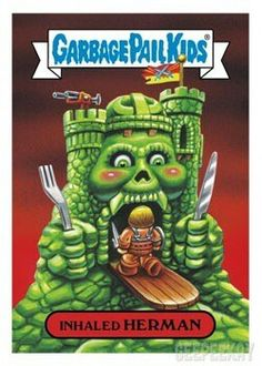 2017 Garbage pail kids On-demand Fall comic convention hermen