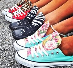 Different types of converse!
