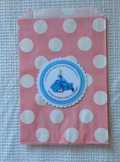 Personalized Cinderella Tags Cinderella by Justabitofpaper on Etsy, $10.00