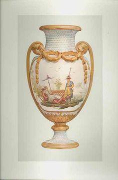Beautiful Sevres Porcelain Urn