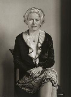 August Sander Society Lady c. 1930