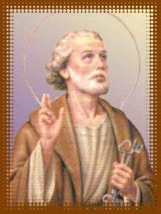 O dia de São Pedro é comemorado em 29 de junho.