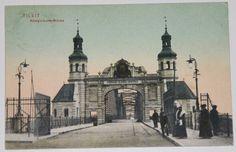 AK TILSIT+1910+KÖNIGIN LUISE BRÜCKE+OSTPREUßEN+Sowetsk+Tilžė