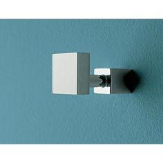 Bathroom Hook, Toscanaluce 4504, Polished Chrome Robe Hook 4504