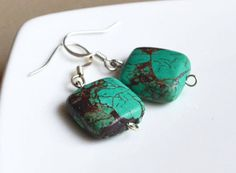 Turquoise South Western Earrings