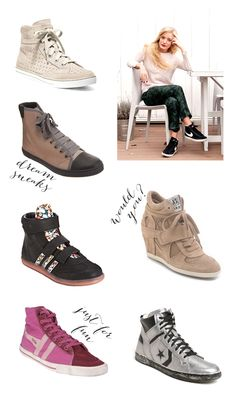 Perfect-hi-top-sneakers from @Anne Sage Pretty Girl Swag, Walk In My Shoes, What To Wear Today, Party Shoes, Sock Shoes, Shoe Boots, High Top Sneakers, Fashion Shoes, Converse