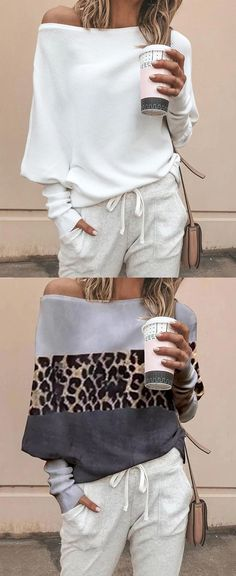 Fasion Casual Solid Color Plain Sweaters Fasion Casual Solid Color Plain Sweaters The post Fasion Casual Solid Color Plain Sweaters appeared first on Mode Frauen. Fashion Moda, Look Fashion, Hijab Fashion, Fashion Outfits, Belted Shirt Dress, Tee Dress, Winter Mode, Fall Winter, Mode Hijab