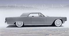 1961 Lincoln Continental Coupe concept