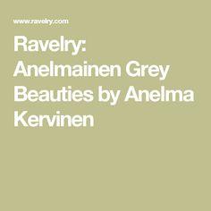 Ravelry: Anelmainen Grey Beauties by Anelma Kervinen Ravelry, Socks, Grey, Beauty, Gray, Sock, Stockings, Beauty Illustration, Ankle Socks