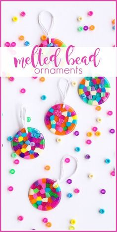 this post may contain affiliate links I've got a super fun kids craft for you today – Melted Bead Ornaments!  If you're like us, you have a ton of those pony beads sitting around – we do beading with them, and pony bead animals, but have you ever thought to melt them??  It's a fun...Read More »