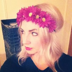 Buyer's Remorse Floral Halo