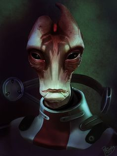 Mordin Solus [by ruthieee.deviantart.com] (Mass Effect 2 and 3)