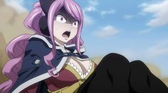 File:Meredy watches in horror. Fairy Tail Art, Fairy Tail Lucy, Fairy Tail Anime, Fairy Tales, Fairy Tail Meredy, Blue Purple Hair, Fairy Tail Characters, Manga, Fantasy Creatures