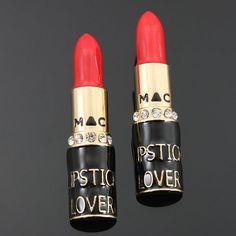 Lipstick Lovers Fashion!!  https://www.etsy.com/listing/168575131/stunning-lipstick-lovers-stud-earrings