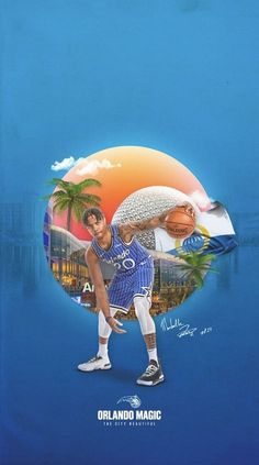 Basketball Leagues, Basketball Players, Basketball Stuff, Nba League, Nba Wallpapers, Sports Graphics, Wallpaper Size, Orlando Magic, World Star