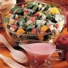 Fruited Spinach Salad - The perfect dish for hot summer days!